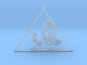Katy Perry  Pendant (Dark Horse) 3D Jewellery   in Smooth Fine Detail Plastic