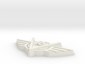 V16-V0004 in White Natural Versatile Plastic
