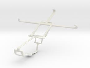 Controller mount for Xbox One & vivo X5Max in White Natural Versatile Plastic