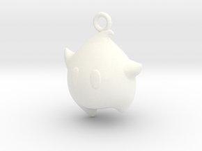 LumaCharm in White Processed Versatile Plastic
