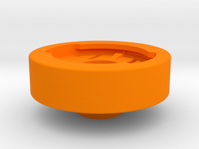 Edge Stem Cap Mount in Orange Strong & Flexible Polished