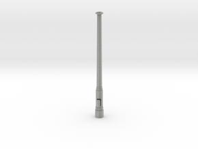 Mast für Bahnsteiguhr 1:32 in Metallic Plastic