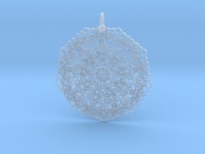 Love Mandala Pendant in Smooth Fine Detail Plastic
