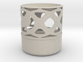 Oil Lamp - Wax Melter S in Natural Sandstone