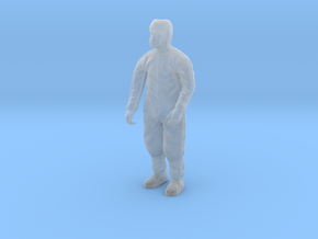 Clean Room Workman Nr. 2  in Smooth Fine Detail Plastic: 1:16