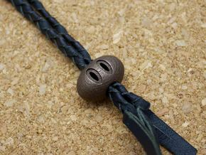 The Hate Project: SNOUT BEAD in Matte Bronze Steel