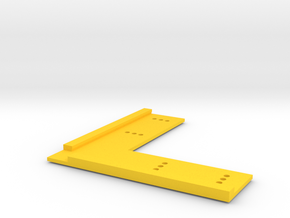 T-Trak Straight Track Locator in Yellow Strong & Flexible Polished
