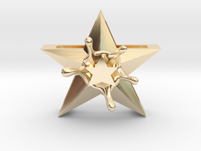StarSplash in 14k Gold Plated Brass