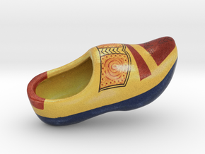 Wooden Shoe in Full Color Sandstone