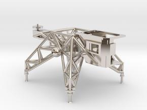 018A LLTV - Lunar Landing Training Vehicle - 1/144 in Platinum