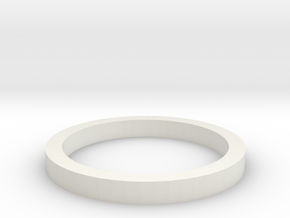 Formel MINI-Z Distanzring 2mm in White Natural Versatile Plastic