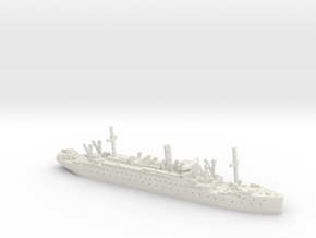 Jervis Bay 1/1800 in White Natural Versatile Plastic