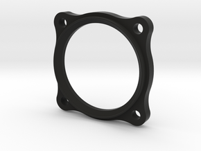 German small Gauge bezel in Black Natural Versatile Plastic