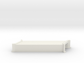 N-Scale Concrete Highway Angled Culvert in White Natural Versatile Plastic