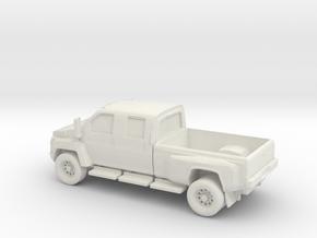 1/64 GMC Topkick in White Natural Versatile Plastic