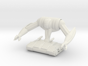 Bulky Mech in White Natural Versatile Plastic