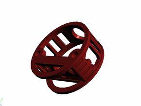 GCM112-04-01 - R.I.C.E.™ Port Style1 holder in White Strong & Flexible