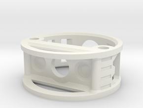 GCM114-04-01 - R.I.C.E.™ Port Style1 holder in White Natural Versatile Plastic