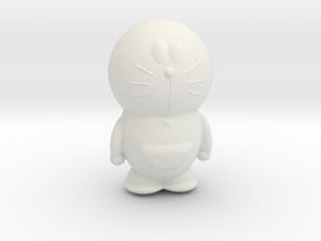 Doraemon hollow in White Natural Versatile Plastic