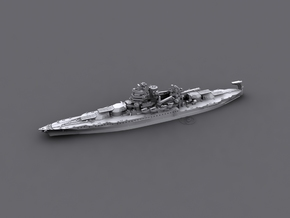 USN BB40 New Mexico [early-war;1942] in White Natural Versatile Plastic: 1:1800