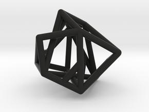 Lien pendant in Black Natural Versatile Plastic