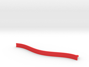 Big Curved ZMR250 bumper in Red Strong & Flexible Polished