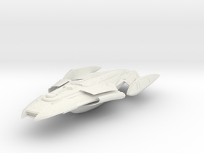 Carter Class Cruiser in White Strong & Flexible