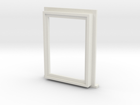 Window Type 3 - 22 X 16 - 4mm in White Strong & Flexible