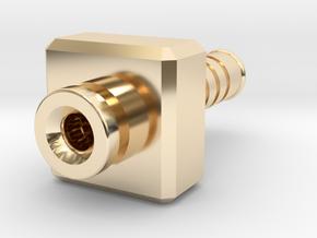 Mjolnir in 14k Gold Plated Brass