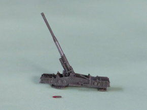 """M65 Gun System """"Atomic Annie"""" Solo 1/220  in Frosted Ultra Detail"""