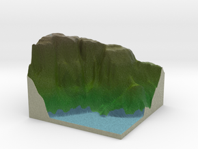 Terrafab generated model Fri Apr 17 2015 17:06:57  in Full Color Sandstone