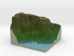 Terrafab generated model Fri Apr 17 2015 17:06:57  in Full Color Sandstone