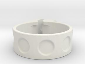 30,9 mm clamp in White Natural Versatile Plastic