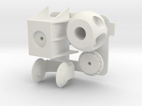 Sea Archer C in White Natural Versatile Plastic