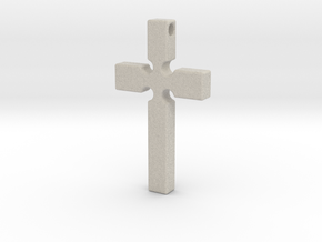 Monroe Cross in Natural Sandstone
