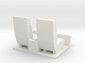 Gmc C5500 Interior (Single Cab) in White Natural Versatile Plastic