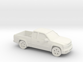 1/87 2002-12 Chevrolet Colorado in White Natural Versatile Plastic