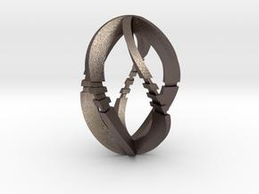 Modern Art D5 / 5-Sided Die in Stainless Steel