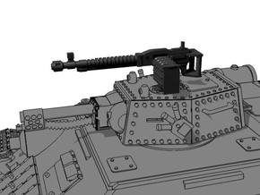28mm heavy machinegun (5) in Smooth Fine Detail Plastic