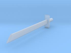 Blank blade in Smoothest Fine Detail Plastic