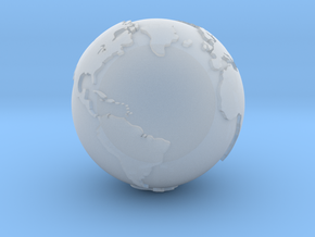 Globe, Hollow, 3/4 Inch Diameter in Smooth Fine Detail Plastic