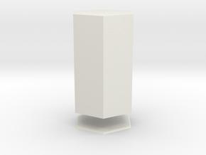 Columna Laterata Exagona Solida in White Strong & Flexible