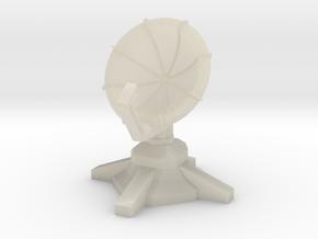 Radar Turret (1/285) in White Acrylic