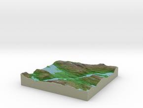 Terrafab generated model Sun Apr 19 2015 10:29:31  in Full Color Sandstone