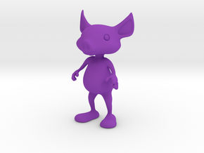 Tiny Pig in Purple Strong & Flexible Polished