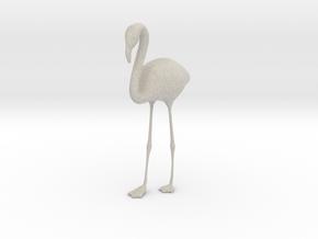 Flamingo in Natural Sandstone