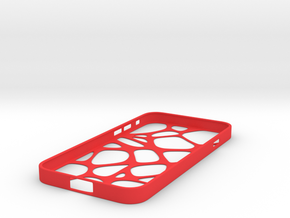 Net iPhone 6 Case in Red Strong & Flexible Polished