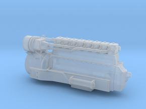 4mm Sulzer 8 LDA 28 in Smooth Fine Detail Plastic