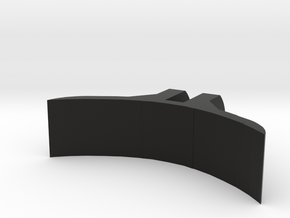 Curved Mount For 52mm Gauge Cup in Black Strong & Flexible