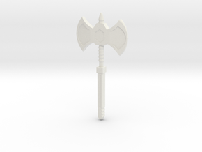 Plasma Axe 2.0 in White Natural Versatile Plastic